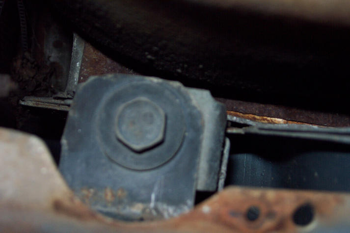 lower fender bolt