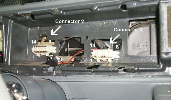 instrument panel adapter view